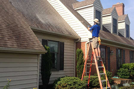 F&E Power Wash Floyd Virginia Roof Cleaning Roof Power Wash