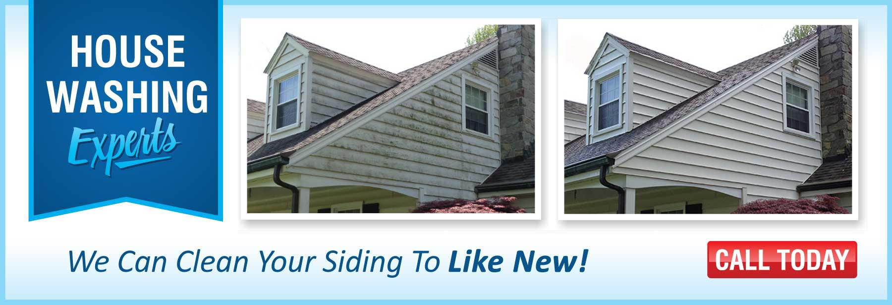 F&E Power Wash Siding Cleaning House Cleaning
